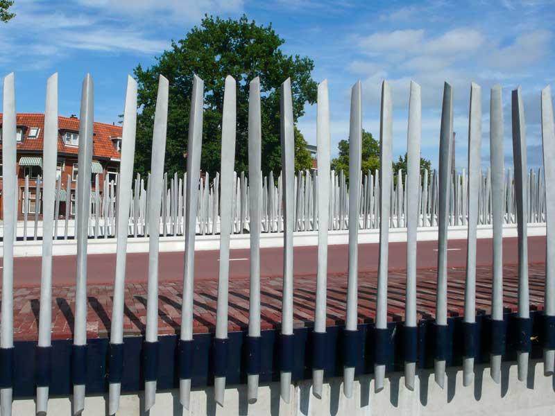 Valkbrug Leiden Van Boekel Spijlen