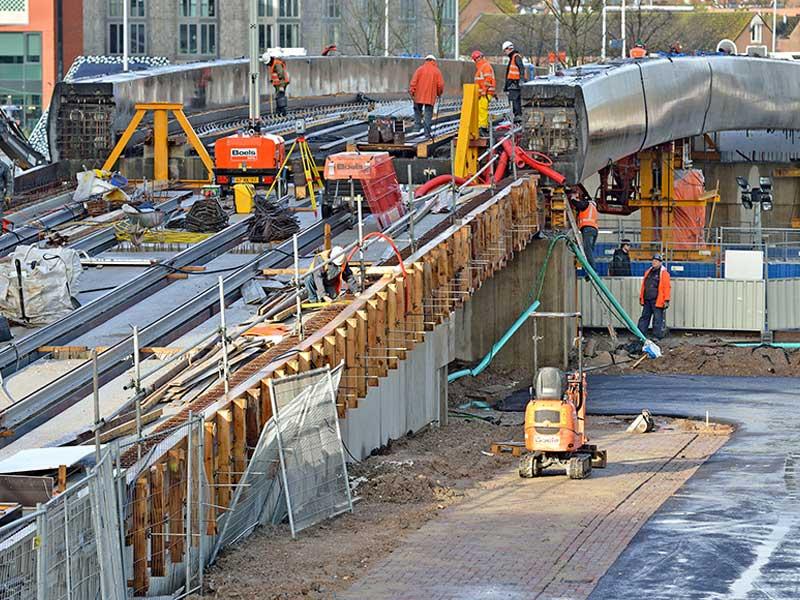 HOV viaduct Utrecht Van Boekel Bouw en Infra