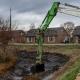 Kasteelgracht Oploo Sliblaag verwijderen Van Boekel Regionaal