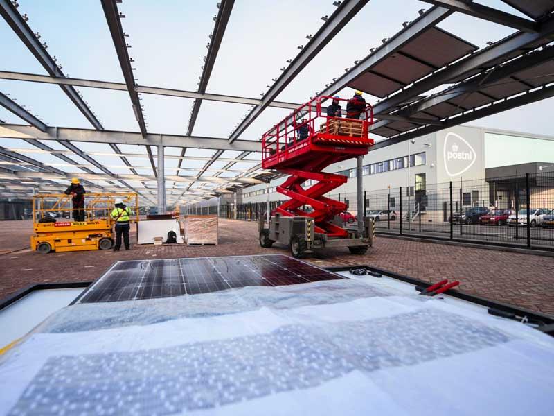Apeldoorn parkeerplaats Van Boekel Zonnebos