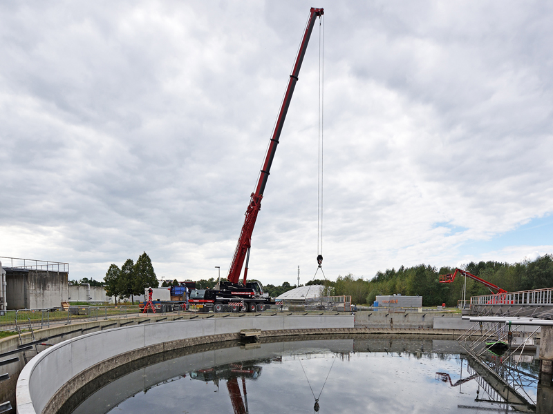 Van Boekel project RWZI Eindhoven Waterschap de Dommel